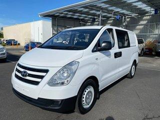 2016 Hyundai iLOAD TQ3-V Series II MY16 Crew Cab White 5 Speed Automatic Van.