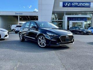 2021 Hyundai i30 PD.V4 MY21 N Line D-CT Phantom Black 7 Speed Sports Automatic Dual Clutch Hatchback.
