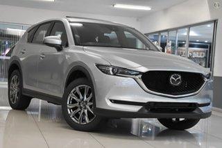 2021 Mazda CX-5 KF4WLA Akera SKYACTIV-Drive i-ACTIV AWD Silver 6 Speed Sports Automatic Wagon.