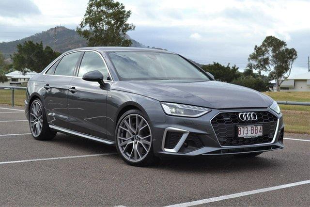 Demo Audi A4 B9 8W MY20 45 TFSI S Tronic Quattro S Line Mundingburra, 2020 Audi A4 B9 8W MY20 45 TFSI S Tronic Quattro S Line Grey 7 Speed Sports Automatic Dual Clutch