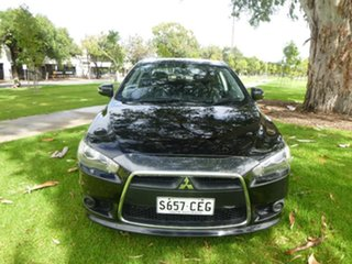 2015 Mitsubishi Lancer CJ ES Sport Black Constant Variable Sedan.