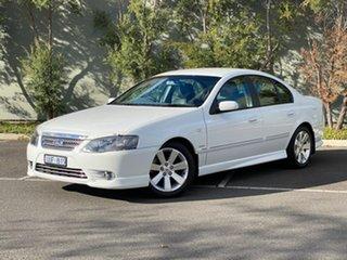 2007 Ford Fairmont BF Mk II Ghia White 6 Speed Sports Automatic Sedan.