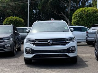 2020 Volkswagen T-Cross C1 MY21 85TSI DSG FWD Style White 7 Speed Sports Automatic Dual Clutch Wagon.