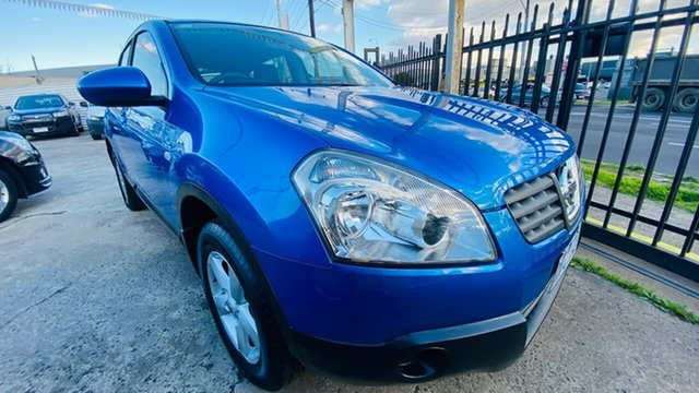 Used Nissan Dualis J10 MY2009 ST Hatch X-tronic Maidstone, 2009 Nissan Dualis J10 MY2009 ST Hatch X-tronic 6 Speed Constant Variable Hatchback