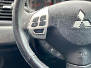 2011 Mitsubishi Lancer VR-X Black Manual Hatchback