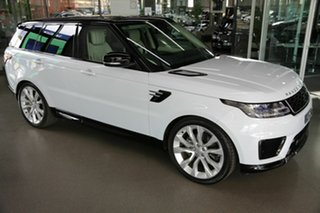 2019 Land Rover Range Rover Sport L494 19.5MY HSE White 8 Speed Sports Automatic Wagon