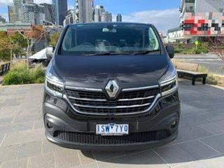 2020 Renault Trafic X82 MY21 Premium Low Roof LWB EDC 125kW Black 6 Speed.