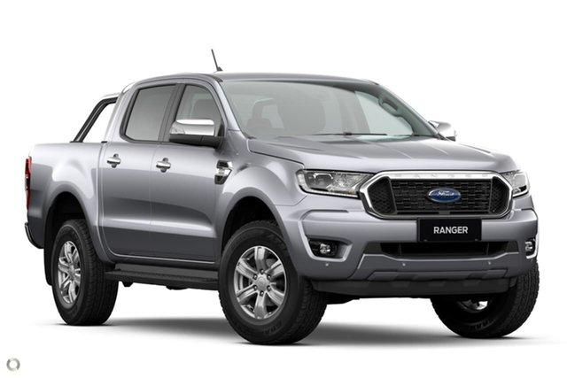 New Ford Ranger PX MkIII 2021.25MY XLT Oakleigh, 2021 Ford Ranger PX MkIII 2021.25MY XLT Silver 10 Speed Sports Automatic Double Cab Pick Up