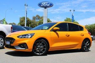 2020 Ford Focus SA 2020.25MY ST Orange 6 Speed Manual Hatchback.