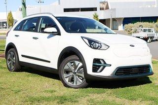 2021 Kia Niro DE MY21 Electric S Clear White 1 Speed Automatic Wagon.