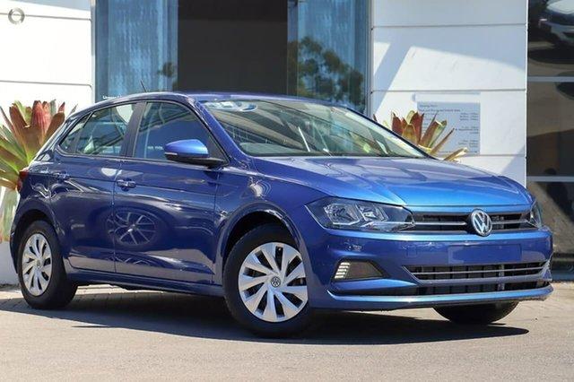 New Volkswagen Polo AW MY21 70TSI DSG Trendline Sutherland, 2021 Volkswagen Polo AW MY21 70TSI DSG Trendline Reef Blue Metallic 7 Speed