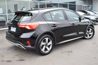 2019 Ford Focus SA 2020.25MY Active Black 8 Speed Automatic Hatchback