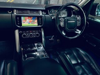 2014 Land Rover Range Rover L405 15.5MY Vogue SE Grey 8 Speed Sports Automatic Wagon.