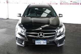 2015 Mercedes-Benz GLA250 4Matic X156 MY15 Black 7 Speed Auto Dual Clutch Wagon.