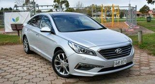 2015 Hyundai Sonata LF Premium Silver 6 Speed Sports Automatic Sedan.