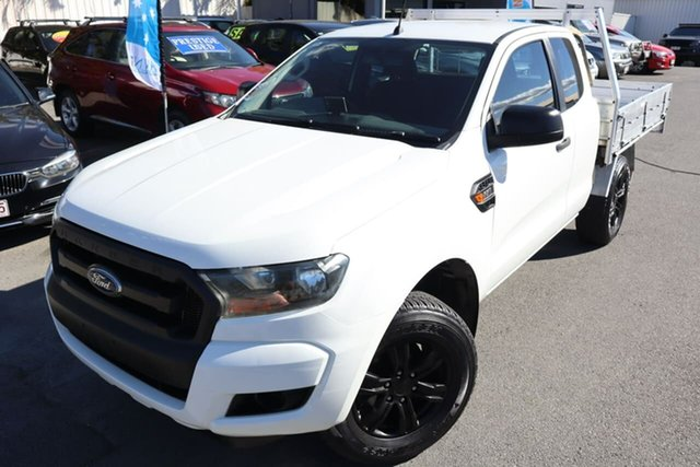 Used Ford Ranger PX MkII XL Hi-Rider Moorooka, 2015 Ford Ranger PX MkII XL Hi-Rider White 6 Speed Sports Automatic Cab Chassis