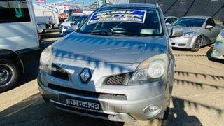 2008 Renault Koleos H45 Dynamique Silver 1 Speed Constant Variable Wagon.