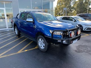 2019 Ford Ranger PX MkIII 2019.00MY XLT Blue 6 Speed Sports Automatic Double Cab Pick Up.