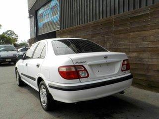 2000 Nissan Pulsar N16 LX White 4 Speed Automatic Sedan