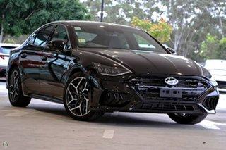 2021 Hyundai Sonata DN8.V1 MY21 N Line DCT Black 8 Speed Sports Automatic Dual Clutch Sedan.