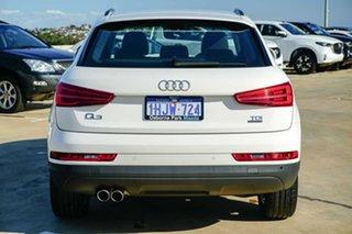 2018 Audi Q3 8U MY18 TDI S Tronic Quattro White 7 Speed Sports Automatic Dual Clutch Wagon