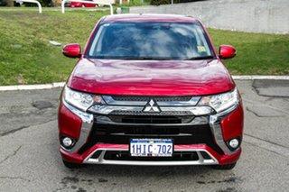 2020 Mitsubishi Outlander ZL MY21 PHEV AWD ES Red Diamond 1 Speed Automatic Wagon Hybrid.
