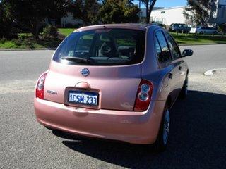 2008 Nissan Micra K12 Pink 4 Speed Automatic Hatchback