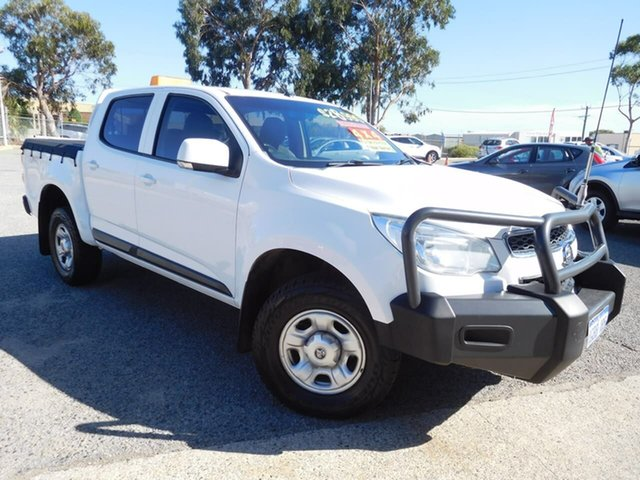Used Holden Colorado RG MY17 LS Pickup Crew Cab Wangara, 2016 Holden Colorado RG MY17 LS Pickup Crew Cab White 6 Speed Sports Automatic Utility
