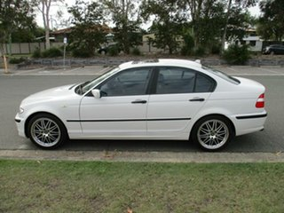 2003 BMW 3 Series E46 MY2003 318i Steptronic Executive White 5 Speed Sports Automatic Sedan