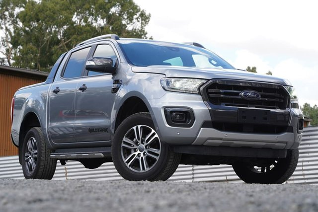 Used Ford Ranger PX MkIII 2020.25MY Wildtrak Clare, 2020 Ford Ranger PX MkIII 2020.25MY Wildtrak Silver 6 Speed Manual Double Cab Pick Up