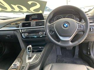 2015 BMW 3 Series F30 LCI 318i Luxury Line Black 8 Speed Sports Automatic Sedan