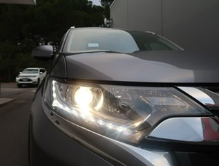 2017 Mitsubishi Outlander ZL MY18.5 ES AWD Grey 6 Speed Constant Variable Wagon.