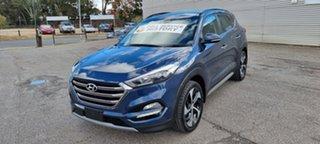 2017 Hyundai Tucson TLe MY17 Highlander D-CT AWD Blue 7 Speed Sports Automatic Dual Clutch Wagon