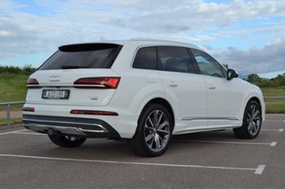 2020 Audi Q7 4M MY20 45 TDI Tiptronic Quattro White 8 Speed Sports Automatic Wagon.