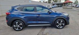 2017 Hyundai Tucson TLe MY17 Highlander D-CT AWD Blue 7 Speed Sports Automatic Dual Clutch Wagon.