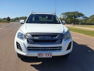 2019 Isuzu D-MAX MY19 SX 4x2 High Ride White 6 Speed Sports Automatic Cab Chassis.