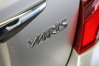 2015 Toyota Yaris NCP131R MY15 SX Silver Pearl 4 Speed Automatic Hatchback