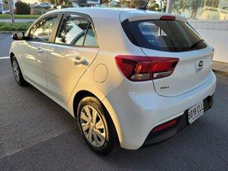 2021 Kia Rio YB MY21 S White 6 Speed Automatic Hatchback.