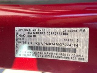 2016 Kia Sportage SI Burgundy Sports Automatic Wagon