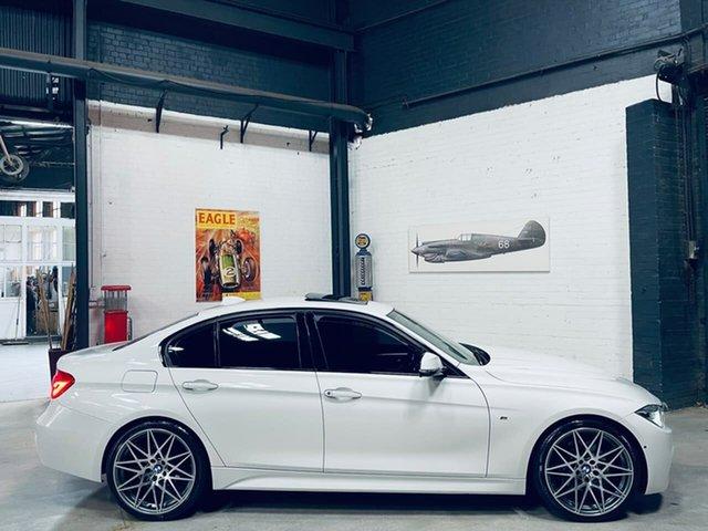Used BMW 3 Series F30 LCI 330i M Sport Port Melbourne, 2016 BMW 3 Series F30 LCI 330i M Sport White 8 Speed Sports Automatic Sedan