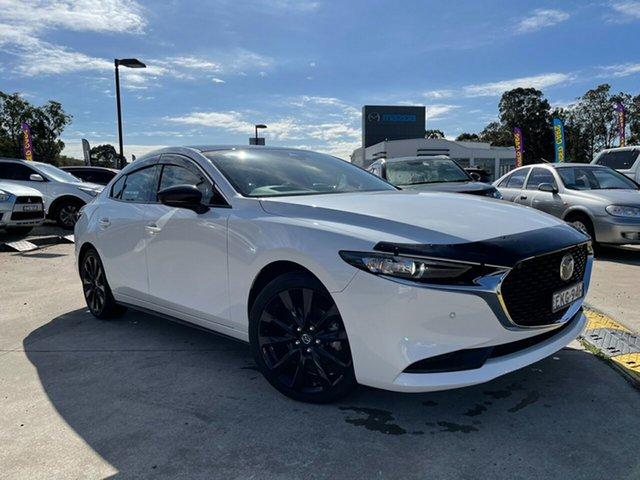 Used Mazda 3 BP2SLA G25 SKYACTIV-Drive GT Glendale, 2019 Mazda 3 BP2SLA G25 SKYACTIV-Drive GT White 6 Speed Sports Automatic Sedan
