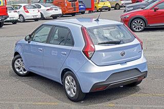 2021 MG MG3 SZP1 MY21 Core Silver 4 Speed Automatic Hatchback.