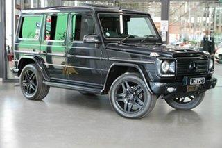 2013 Mercedes-Benz G-Class W463 MY13 G500 7G-Tronic 4MATIC Black 7 Speed Sports Automatic Wagon.