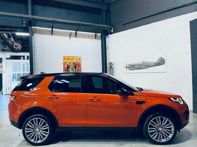Used Land Rover Discovery Sport L550 17MY HSE Port Melbourne, 2016 Land Rover Discovery Sport L550 17MY HSE Orange 9 Speed Sports Automatic Wagon