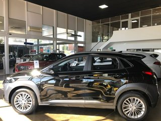 2020 Hyundai Kona OS.3 MY20 Elite 2WD Black 6 Speed Sports Automatic Wagon