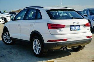 2018 Audi Q3 8U MY18 TDI S Tronic Quattro White 7 Speed Sports Automatic Dual Clutch Wagon.