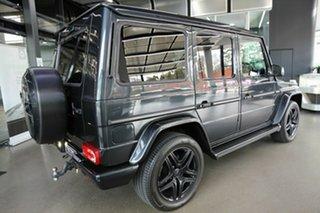 2013 Mercedes-Benz G-Class W463 MY13 G500 7G-Tronic 4MATIC Black 7 Speed Sports Automatic Wagon