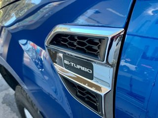 2020 Ford Ranger PX MkIII 2020.25MY XLT Blue 10 Speed Sports Automatic Double Cab Pick Up