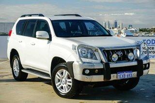 2009 Toyota Landcruiser Prado KDJ150R VX White 5 Speed Sports Automatic Wagon.