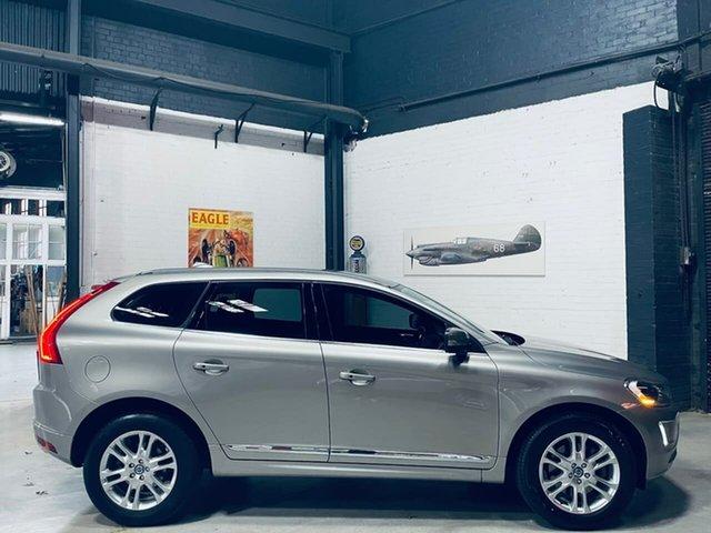 Used Volvo XC60 DZ MY14 T5 Geartronic Luxury Port Melbourne, 2014 Volvo XC60 DZ MY14 T5 Geartronic Luxury Silver 8 Speed Sports Automatic Wagon